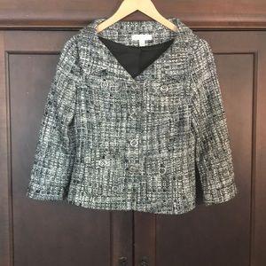 White House-Black Market tweed jacket, size 4